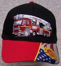 Embroidered Baseball Cap Fire Department Hook and Ladder NEW 1 hat size fits all