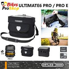 NEW 2018 ORTLIEB Ultimate 6 PRO / PRO E (Handlebar Bag) 100% IP54 FREE SHIPPING
