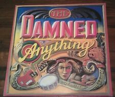 "THE DAMNED ""Anything"" Punk Lp vinilo original carpeta doble 1986"