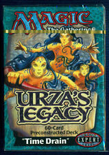 Time Drain Urza's Legacy Theme Deck ENGLISH Sealed Brand New MTG MAGIC ABUGames