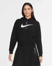 Nike Women's Hoodie Sportswear Swoosh Casual Activewear Everyday Sweatshirt