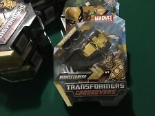MARVEL LEGENDS TRANSFORMERS CROSSOVERS WOLVERINE New MIB MOSC Brown Skin