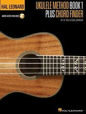 Hal Leonard Ukulele Method Book 1 Plus Chord Finder by Chad Johnson and Lil' Re…