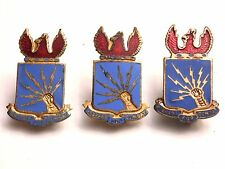 WW2 ARMY AIR FORCES SOUTHEAST TRAINING COMMAND DI's - STERLING PAIR - PIN BACK