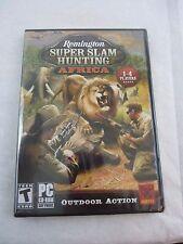 Remington Super Slam Hunting: Africa [XP/Vista/7] PC Game Hunting Shooting NEW