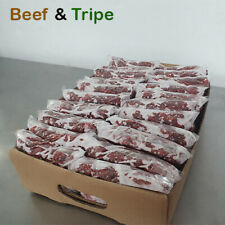 More details for frozen dog food beef & tripe 25 x 454g bags 11 kg box barf raw diet delivered