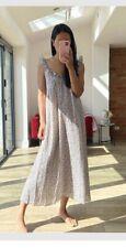 H&M Consciente Con Volados Y Adorno Floral Ditsy Vestido Talla S 10/12/14 BNWT