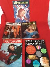 Popular Photography 1947 -4 Issues Plus One 1963 Issue