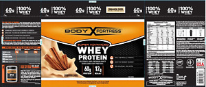 Body Fortress Super Advanced Whey Protein,Cinnamon Swirl, 2 Pounds Best by 11/20