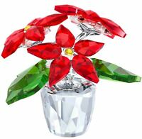 Swarovski Crystal Creation 5291023 Small Poinsettia RRP $149