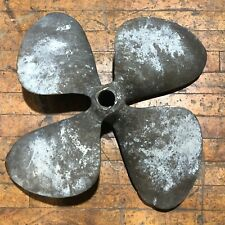 22inch 40LB Vintage Brass 4 Blade Boat Prop Propeller Marine Decor Nautical Art