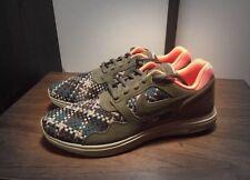 NEW Men's Nike Lunar Flow Woven QS Sneaker Bamboo KITH Supreme 9M 526636-207