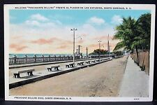 Malecon Billini Santo Domingo, Vintage Dominican Republic Trias Castaner Pc