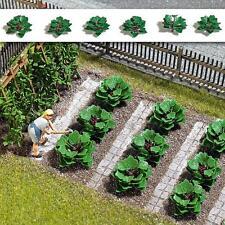 BUSCH 1268 Ruibarbo 10 Plantas nuevo y emb. orig.; Modelismo, no para la huerta