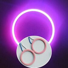 A Pair 5Watt Pink 50mm 30leds Car Small COB LED Angel Eyes Halo Ring Light 9-24V
