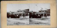 Antique Real Photo Stereoview Center Street Fernandina Florida