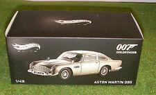 HOT WHEELS ELITE 1:43 SCALE JAMES BOND'S 007 ASTON MARTIN DB5 from GOLDFINGER