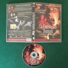 (DVD Horror) LA FORESTA DEI DANNATI Tom Savini N.Petty Gargoyole Video GVN 015