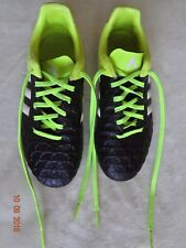 Adidas Soccer Cleats, Black & Yellow & White, Us size 4 (model B32864)