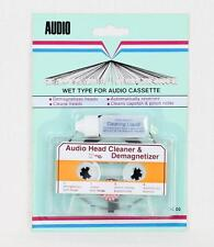 HEAD CLEANER and DEMAGNETIZER for AUDIO CASSETTE RECORDER