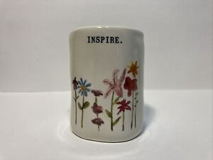 Rae Dunn spring INSPIRE Vase cup Canister flowers Watercolor Bloom Style