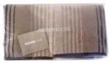 MISSONI HOME TWO HAND TOWEL  ECO DYE BRANDED PACKAGE KASPER 382E MOKA COTTON