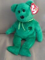 TY Beanie Baby - DUBLIN the Irish Bear - with tag - Retired - Collectible (2002)