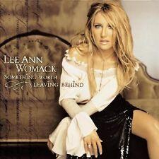 Lee Ann Womack - Something worth leaving behind - CD Album