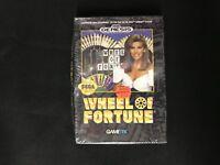 Wheel of Fortune  (Sega Genesis, 1992) Brand New Factory Sealed