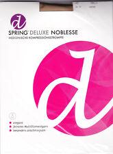 SPRING® DELUXE NOBLESSE AD Wadenstrumpf m. Fußspitze camel Gr. III PZN 01004804