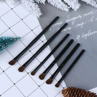 Eye Makeup Brush Set Blend Shadow Angled Eyeliner Smoke Brushes Beauty Brus Pw