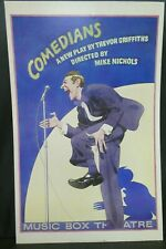 "Comedians Theater Broadway Window Card Poster 14"" x 22"""