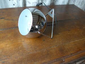 Lampe ou Applique Eyeball en métal chromé style vintage