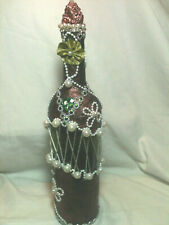 "Handmade Decorative & Designed Bottles ""Elegance"" 13 1/2""Tall"