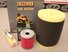 Suzuki Quadrunner 250 King Quad 300 Tune Up Kit NGK Plug Oil & Air Filter LT-F