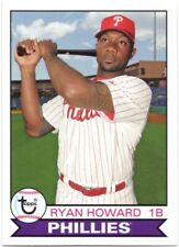 RYAN HOWARD 2016 Topps Archives #135 Philadelphia Phillies 1979 Design