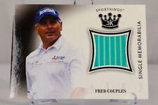 2018 Fred Couples PGA Golf Great Sportkings Single Memorabilia Relic No. SM-FC