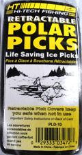 HT Retractable Polar Picks Life Saving Ice Picks - Ice Fishing,Trapping #PLD-10