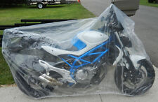 Motorcycle Plastic Temporary Universal  Disposable Cover Rain Dust Medium