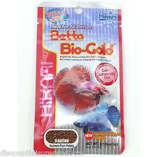 1 x 5g Hikari BETTA BIO GOLD Siamese COMBATTENTE ACQUARIO CIBO per pesci