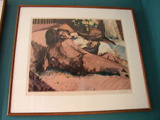"""Aldo Luongo """"Evening"""" S/N Limited Edition Lithograph RARE #AP31/35"""