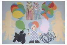 clown with balloon x12 sizzix die cuts make your own