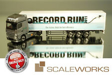 "Herpa 210410 MERCEDES BENZ ACTROS 2011 GIGASPACE ""Shell Record run"" * RARO *"