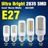 E27 LED LUMIÈRE AMPOULE MAÏS 2835 LUSTRE 5/7/9/11/15W LAMP LAMPE AC220~240V 222