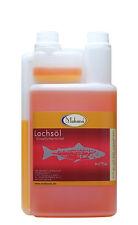 Makana Lachsöl Fischöl 500 ml 0,5 L Pferde Hunde Tier TOP Qualität, 100% rein