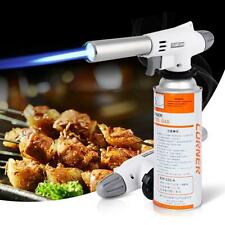 Gun Gas Butane Blow Torch Burner Welding Solder Iron Soldering Lighter Flame B