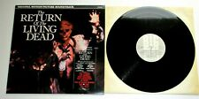 The Return Of The Living Dead 1985 Big Beat Original Soundtrack LP Damned Cramps