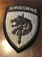 SPECIAL OPERATIONS COMMAND-AFRICA / MILITARY ACU-OCP UNIT PATCH (Merrowed Edge)