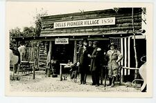 Abe Lincoln, Civil War General, and Frontiersman RPPC Dells PioneerVillage Photo