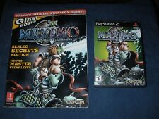 Maxim Ghosts to Glory PS2 video game & Prima Strat Strategy Guide Capcom &Poster